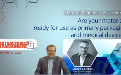 SAXOCON CTO at the Extractables and Leachables Forum 2021