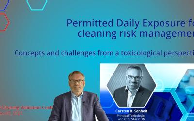 SAXOCON CTO at 2021 Cleaning Validation Conference