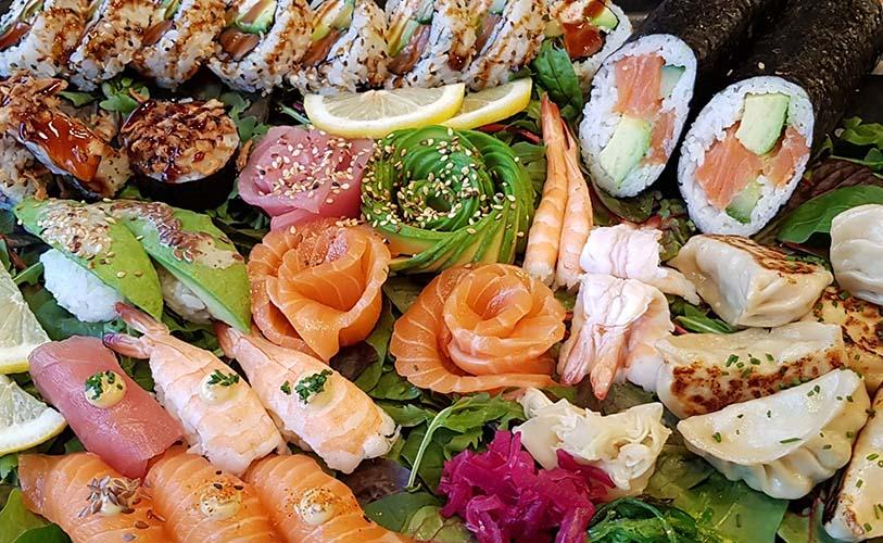 Catering sashimi