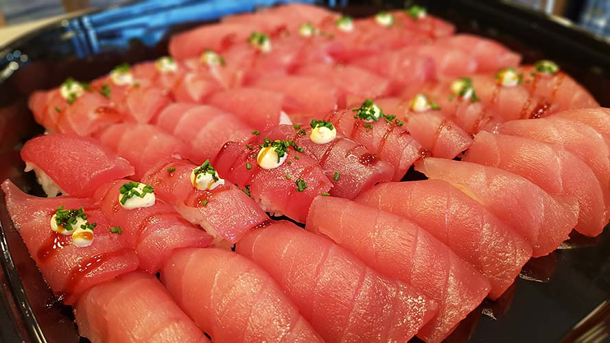 Catering tuna, tonfisk