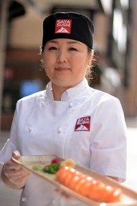 Personal, staff Saya Sushi
