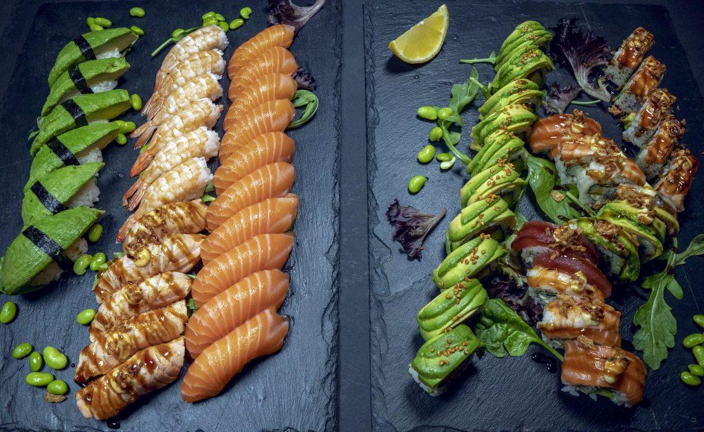 Familjesushi Family sushi 50 bitar