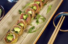 Maki utan ris tonfisk tuna