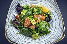 laxsallad salmon salad