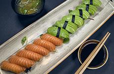 Sushi Lax avokado salmon avocado