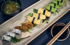 Vegetarisk sushi vegetarian