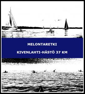 Melontaretki Kivenlahti-Hästö 37 km