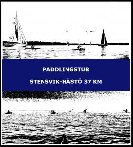 Paddlingstur Stensvik-Hästö 37 km