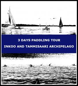 3 days paddling tour Inkoo and Tammisaari archipelago
