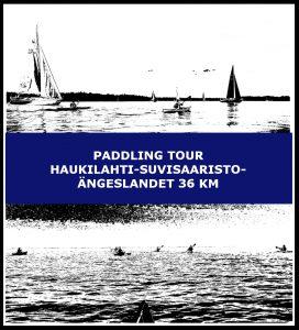 Paddling tour Haukilahti-Suvisaaristo-Ängeslandet 36 km