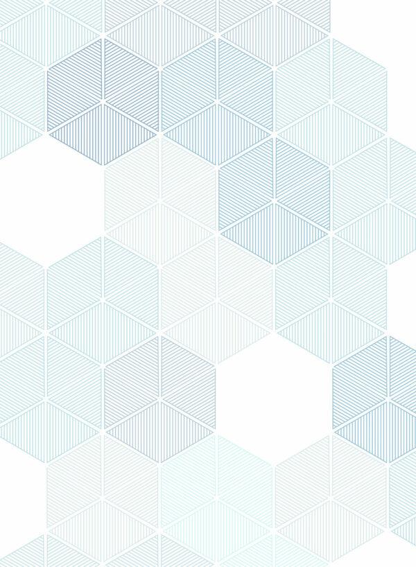 Hexagon-Blue-D