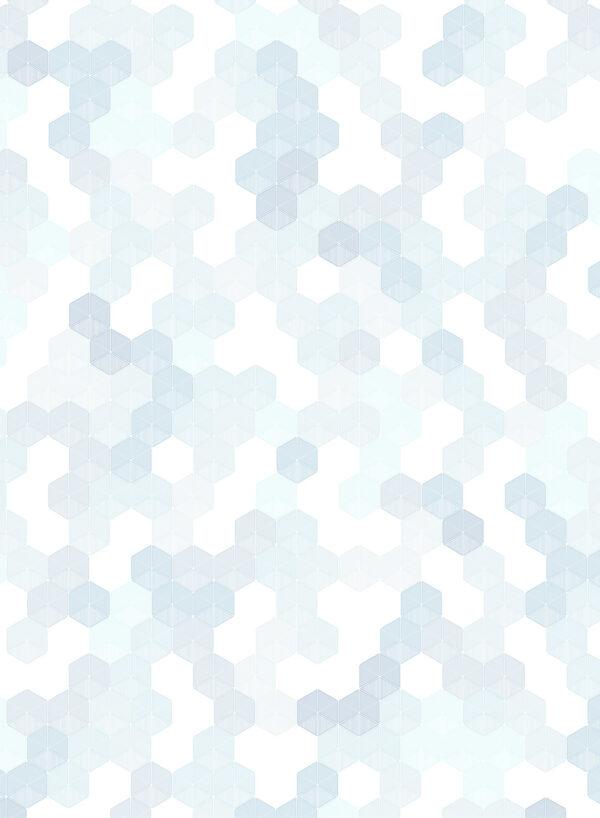 Hexagon-Blue-T
