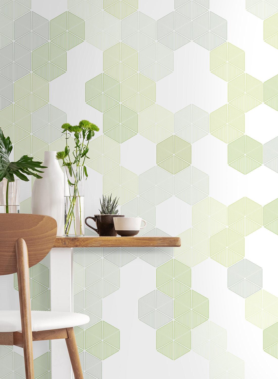 Hexagon-Green