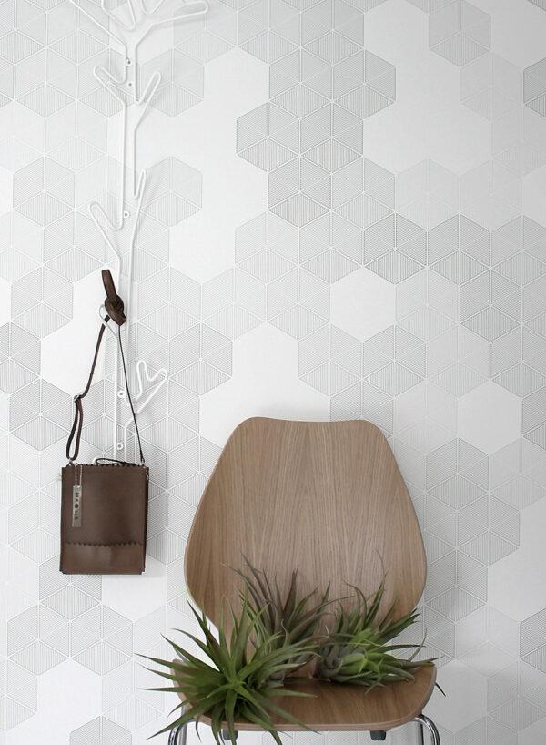 M-Hexagon-Grey-M