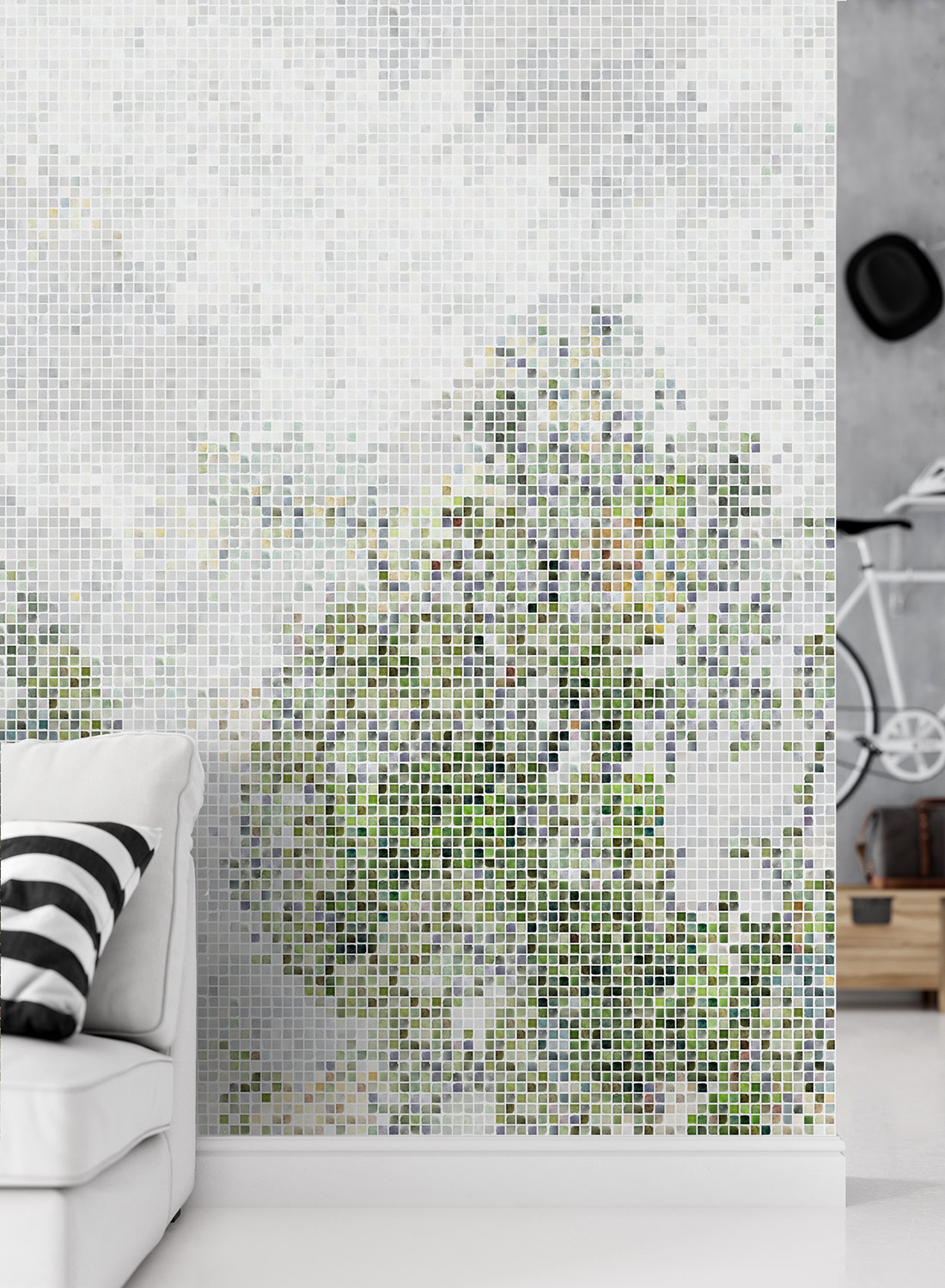 Mosaic-Forest-Green-M
