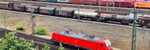 Maschen Rangierbahnhof - DB Cargo Ellok Baureihe 187 rollt zum  nächsten Einsatz