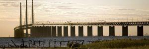 """arkitektur, betar, bete, betesmark, bilbro, bro, broar, byggnader, danmark, djur, får, gräs, götaland, hav, havsutsikt, känd, """"känd byggnad"""", malmö, på, skymning, Skåne, sund, utsikt, Öresund, öresundsbron  royaltyfri  Bildarkivet_2DDH 2DDH  Leif Johansson/Bildarkivet.se"""