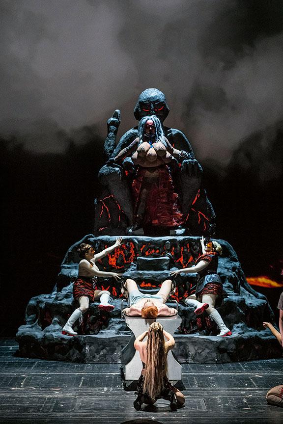 Bild ur operan Tristessa