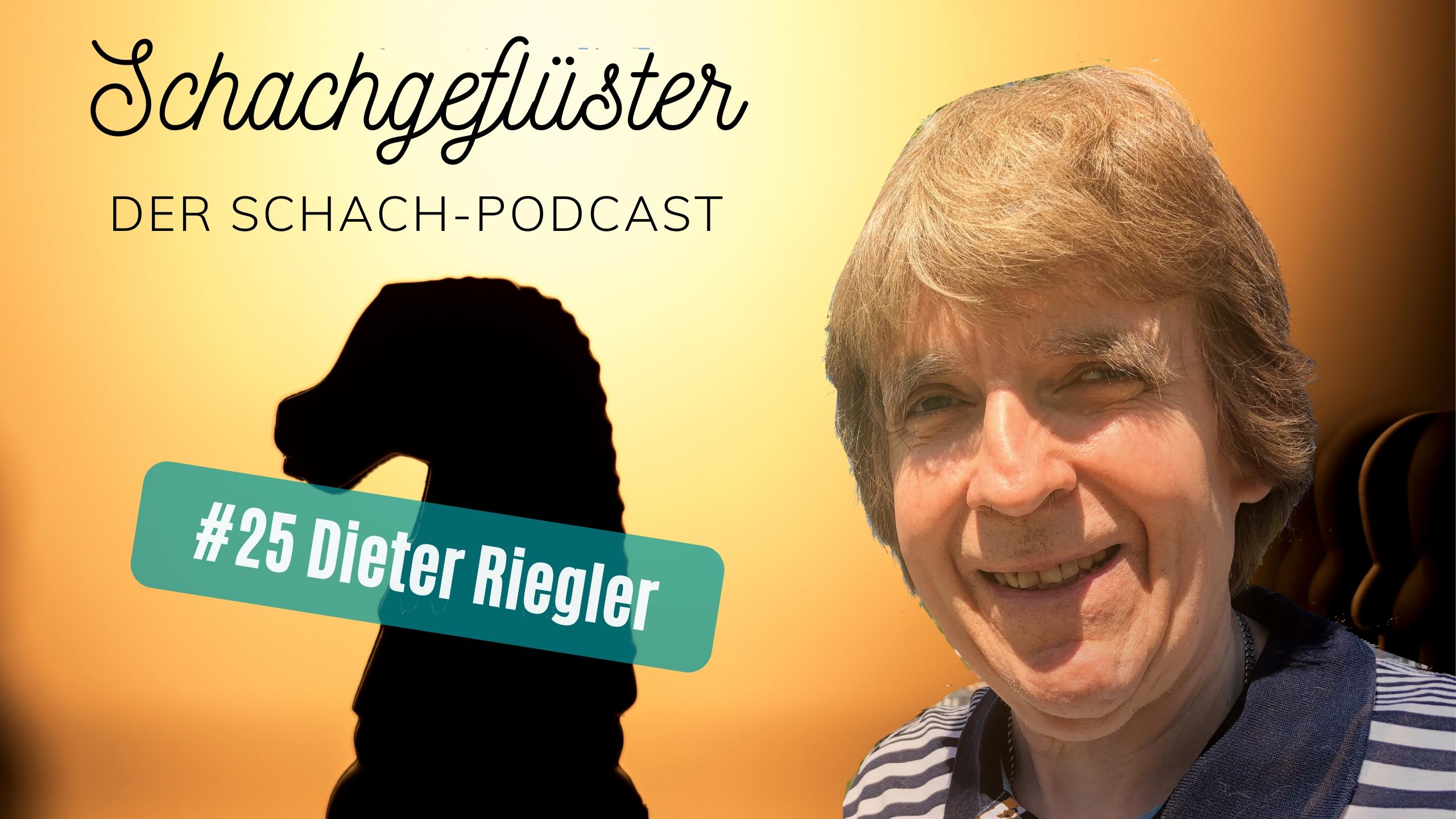Dieter Riegler, der Meister im Blindenschach
