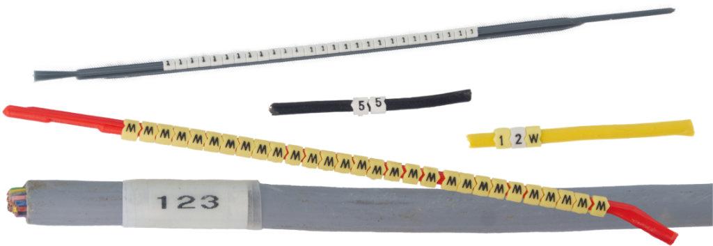 Kabelmarkierungen - Schäfer Kennzeichnungssysteme