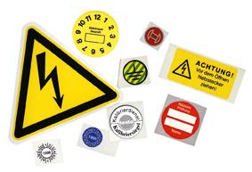 Sicherheitskennzeichen - Schäfer Kennzeichnungssysteme
