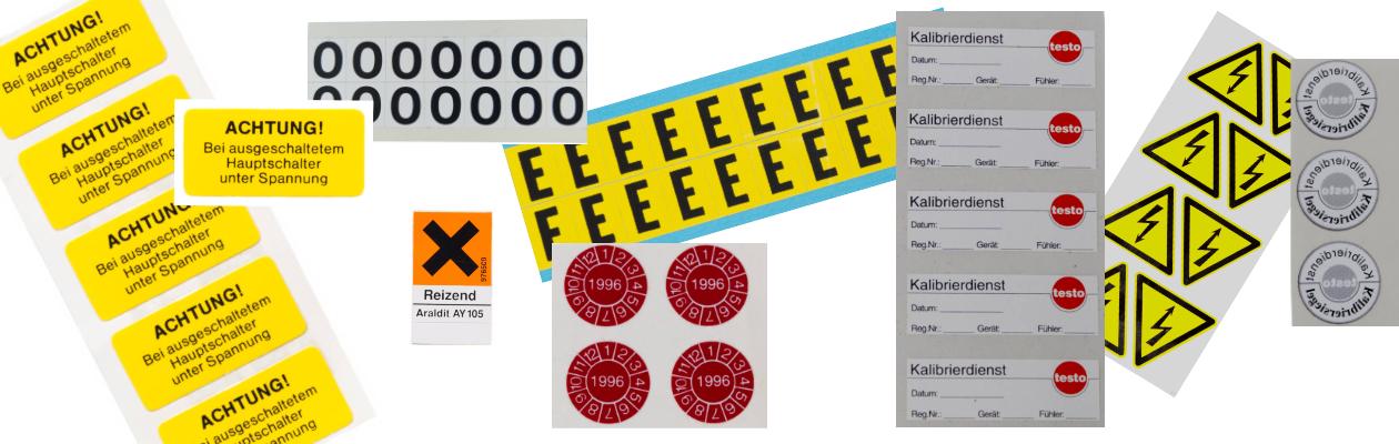 Etiketten - Schäfer Kennzeichnungssysteme