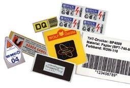 Sonderetiketten - Schäfer Kennzeichnungssysteme
