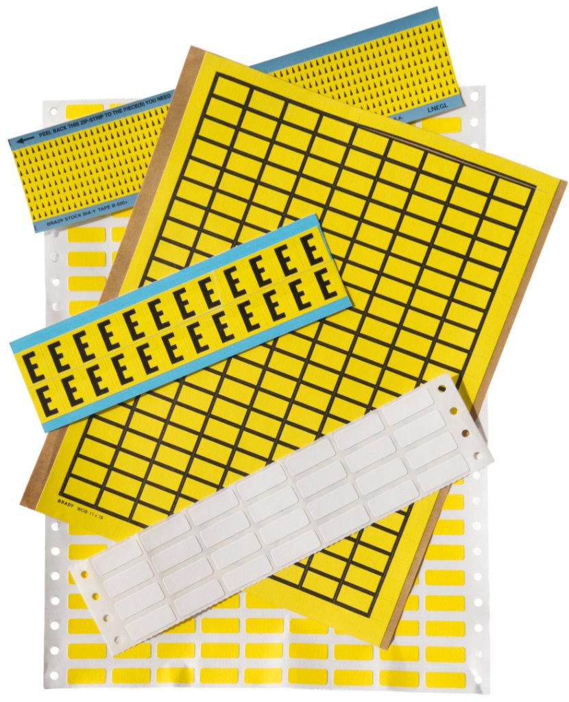Standardetiketten - Schäfer Kennzeichnungssysteme