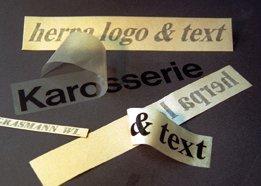 Freistehende Schriften - Schäfer Kennzeichnungssysteme