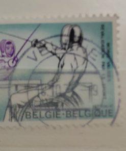 rolstoelschermen postzegel