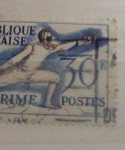 postzegel schermen frankrijk