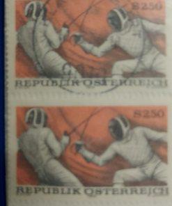 postzegel schermen oostenrijk