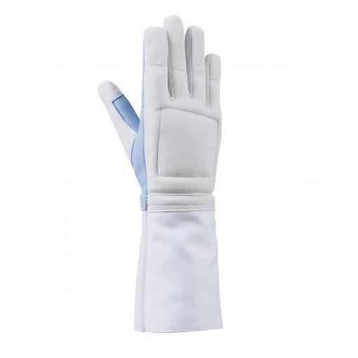 handschoen degen floret achterkant