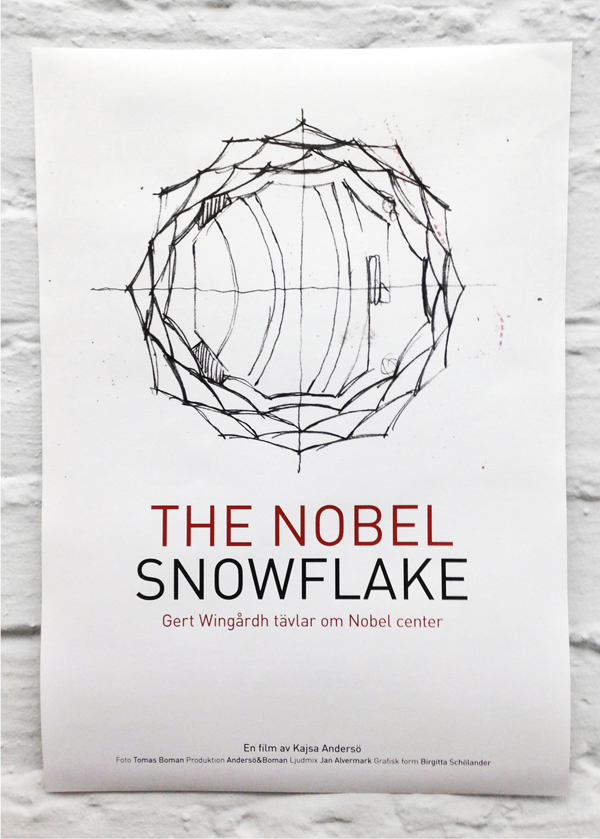 Schölanderdesign, the nobel snowflake