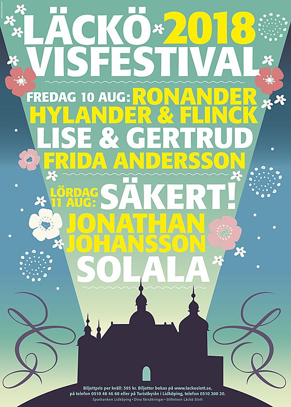 Schölanderdesign, Läckö visfestival 2018