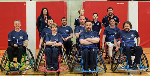 Scotland Rugby League Wheelchair Team