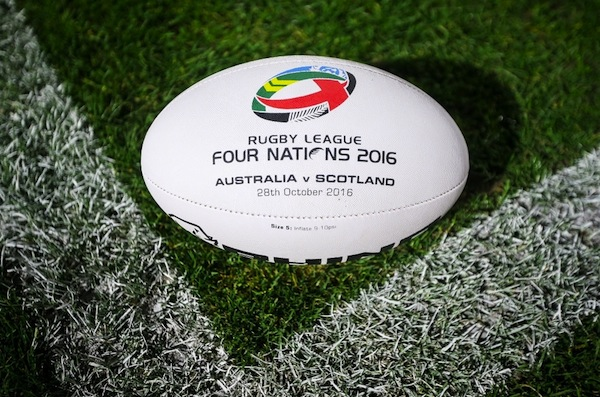 Match ball - Australia vs Scotland October 28th 2016