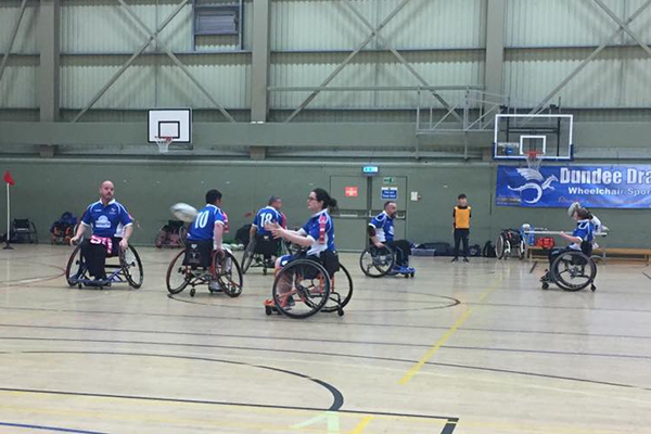 Dundee Dragons Wheelchair Rugby League