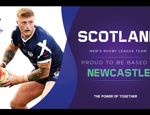Scotland Men based in Newcastle for RLWC2021