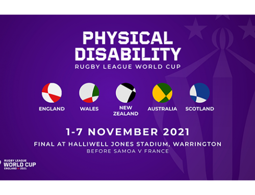 DETAILS CONFIRMED FOR FIRST EVER PHYSICAL DISABILITY RUGBY LEAGUE WORLD CUP TO BE PLAYED DURING RLWC2021