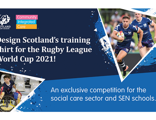 Community Integrated Care become the Official Social Care Partner of Scotland Rugby League