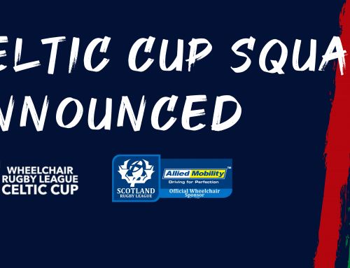 Wheelchair Squad named for Celtic Cup