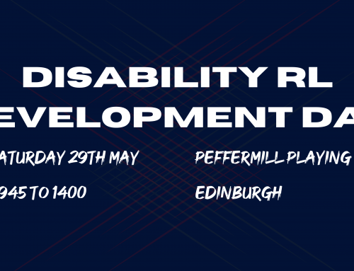 Disability Rugby League Development Day