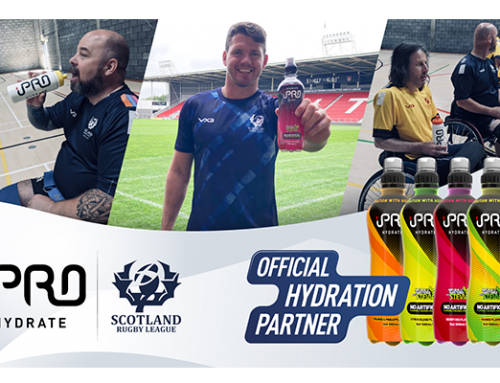 Scotland Rugby League Announce iPRO as Official Hydration Partner