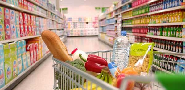 Supermarket trolley