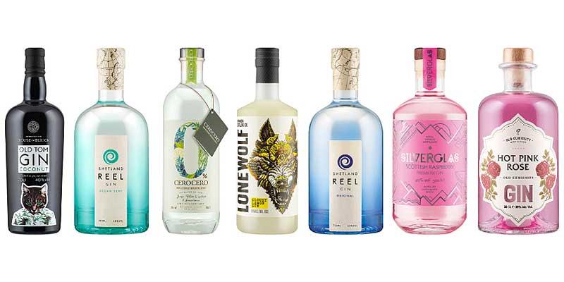 Lidl's Scottish gin range