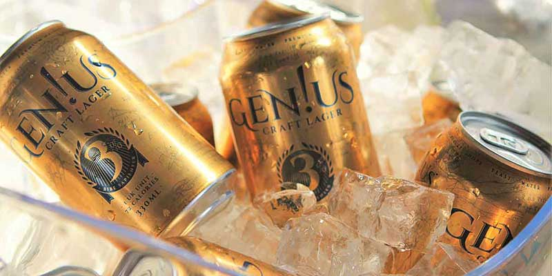 Spar Scotland to stock Gen!us, the UK's first light craft lager