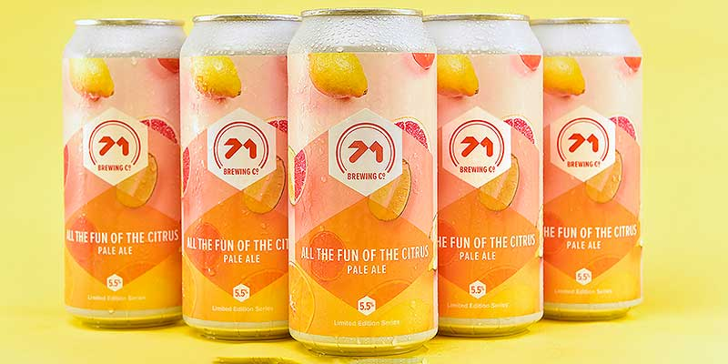 Simply the zest: Lidl unveils new Scottish citrus beer