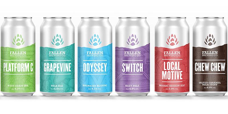 Scottish GP puts pen to beer can in Fallen Brewing rebrand