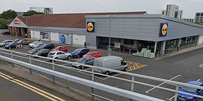 Lidl's largest Scottish store prepares to open